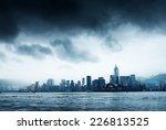 Storm In The Victoria Harbor I...