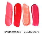 Different Lip Glosses Isolated...