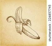 Vintage Banana Paper