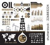oil industry   vector... | Shutterstock .eps vector #226883224