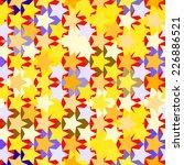 seamless star background | Shutterstock .eps vector #226886521