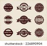 vintage retro stamp | Shutterstock .eps vector #226890904