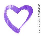 heart shape copyspace frame... | Shutterstock . vector #226894645
