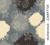 autumn seamless pattern... | Shutterstock . vector #226897735