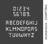 Calculator Digital Text.
