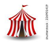 circus tent icon | Shutterstock .eps vector #226901419