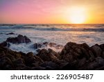 Rocky California Coastline Wit...