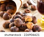 Delicious Roasted Chestnuts...