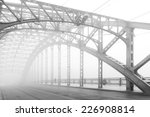 black and white photo of a... | Shutterstock . vector #226908814