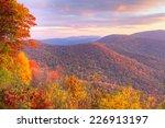 Sunrise In Autumn At Shenandoa...