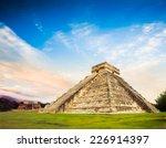 Temple Of Kukulkan  Pyramid In...