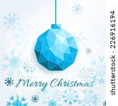 christmas abstract background... | Shutterstock .eps vector #226916194