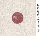 wood pattern | Shutterstock .eps vector #226920055