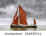 Old Thames Barge