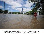 flooded roadway | Shutterstock . vector #226943815