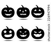 halloween pumpkin icon | Shutterstock .eps vector #226947994
