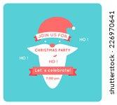 Christmas Invitation With Sant...