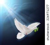 Raster Version. Dove Of Peace...