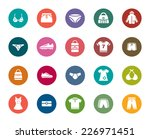 clothing and accessories color... | Shutterstock .eps vector #226971451