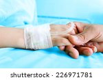iv solution in a child's... | Shutterstock . vector #226971781