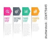 text box  design element.... | Shutterstock .eps vector #226975645