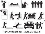 people sign   social network   Shutterstock .eps vector #226984615