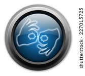 icon  button  pictogram with... | Shutterstock . vector #227015725
