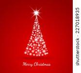 christmas background vector... | Shutterstock .eps vector #227018935