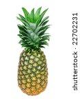fresh pineapple isolated on... | Shutterstock . vector #22702231