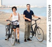 Tourists With Rented Bikes...