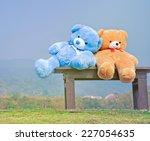 Big Teddy Bears  Sitting On...