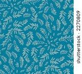 seamless leafy wallpaper... | Shutterstock .eps vector #2270809