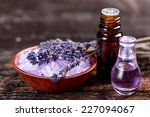 Lavender Oil And Perfume In A...