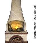 fire place | Shutterstock . vector #227101981