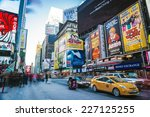 new york   jan 26  long... | Shutterstock . vector #227125255
