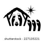 manger graphic design   vector... | Shutterstock .eps vector #227135221
