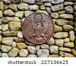 presidential seal at the jfk...