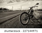 Motorbike.road And City With...