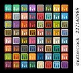 flat design  tube | Shutterstock . vector #227162989
