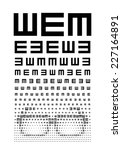 eye chart concept with glasses. ...