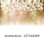 snow light background | Shutterstock . vector #227166589