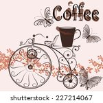 cute vector illustration with...   Shutterstock .eps vector #227214067