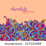 vector background with abstract ...