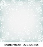 winter background withh... | Shutterstock .eps vector #227228455