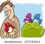 cartoon vector humor concept... | Shutterstock .eps vector #227233411