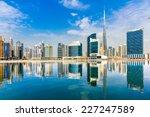 dubai skyline  uae. | Shutterstock . vector #227247589