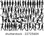 set of editable vector... | Shutterstock .eps vector #22725604