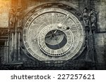 Astronomical Clock In Retro...
