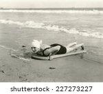 surfer girl | Shutterstock . vector #227273227