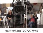 tv professional studio digital... | Shutterstock . vector #227277955